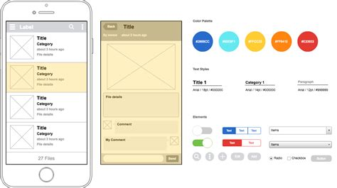 New Diagram Templates Available In Cacoo Cacoo Ios Wireframe Template