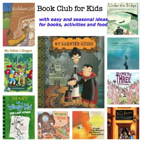 reading club themes how to create a great kids book club activity and book