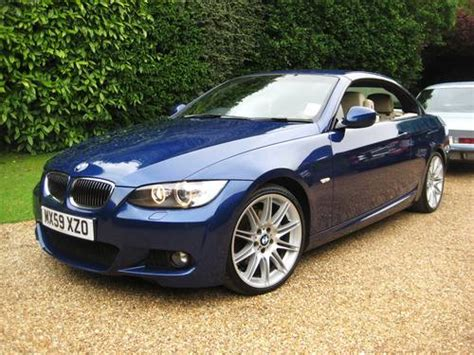 bmw m sport 330d bmw 330d m sport highline auto convertible with only 34k