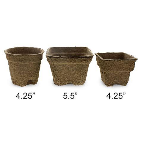 Paper Pots - fiber grow pots paper pots greenhouse megastore