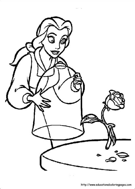 beauty and the beast coloring pages games beauty and beast coloring pages free for kids