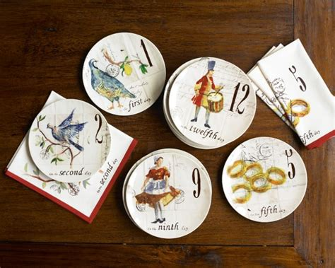 Home Decorations Outlet 12 days of christmas dinnerware collection williams sonoma