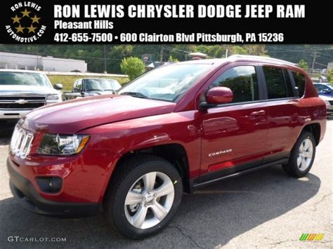 red jeep compass interior 2016 deep cherry red crystal pearl jeep compass latitude