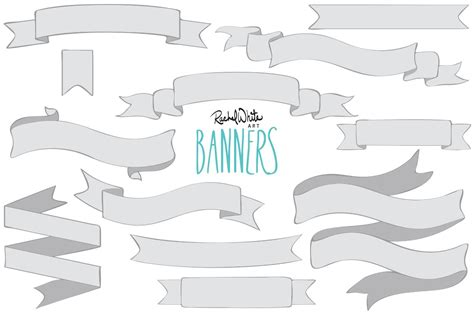 banners vector png graphic objects creative market