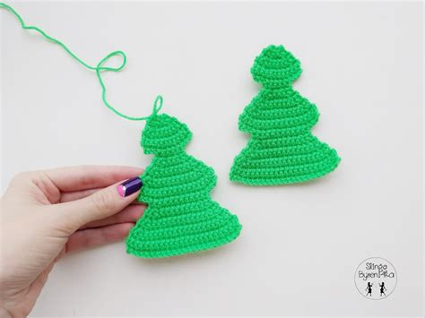 patr 243 n paso a paso arbol navidad crochet ganchillo