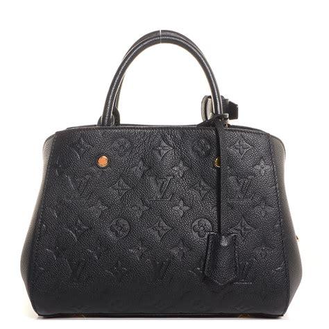 Louis Vuitton Montaigne Bb louis vuitton empreinte montaigne bb noir black 90226