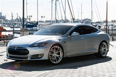 Wheels Tesla Model S Putih tesla model s custom wheels niche st 252 ttgart 21x9 0 et