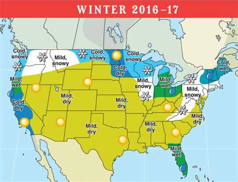 farmers almanac florida 2016 2017 long range weather forecast for u s and canada