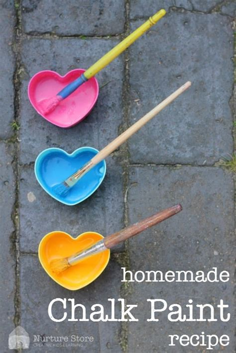 diy chalk paint uk chalk paint recipe nurturestore