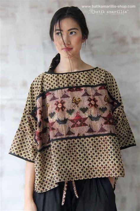model perpaduan kebaya batik batik amarillis made in indonesia batik amarillis s