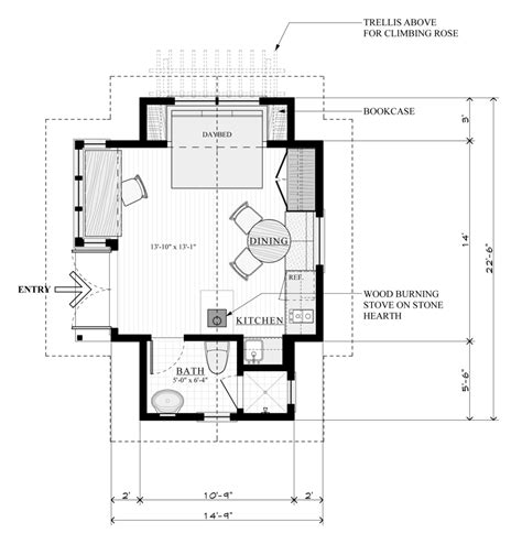 small cottage floor plans a large for small homes new avenue