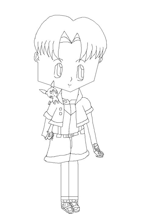 pokemon ranger coloring pages pokemon ranger darien coloring page by sailormoon003 on