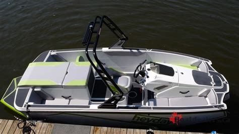 heyday boats wt 1 2017 heyday wt 1 ski and wakeboard boat review