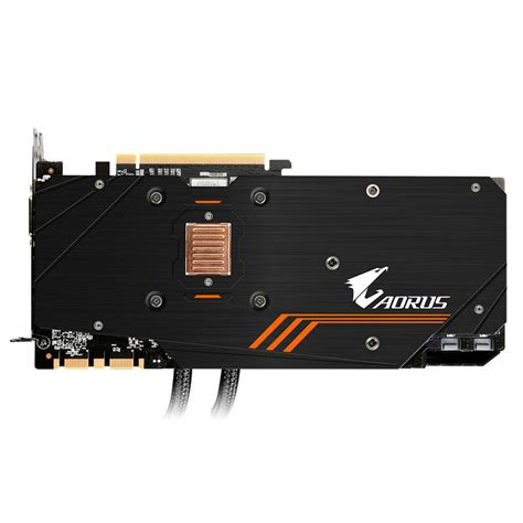 Vga Card Gigabyte Aorus Gtx 1080 Ti 11gb Ddr5x gigabyte aorus geforce gtx 1080 ti waterforce xtreme