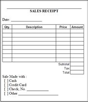 free printable pdf sales receipts business form templates