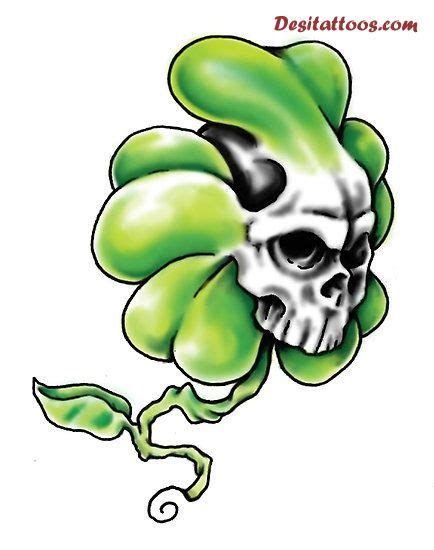 shamrock tattoo clipart best
