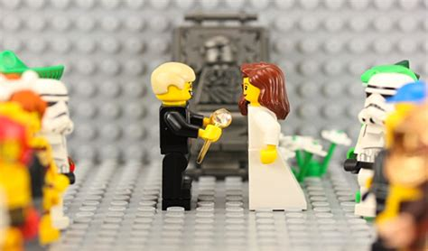 Wedding Stop Motion Animation by Lego Stop Motion Marriage