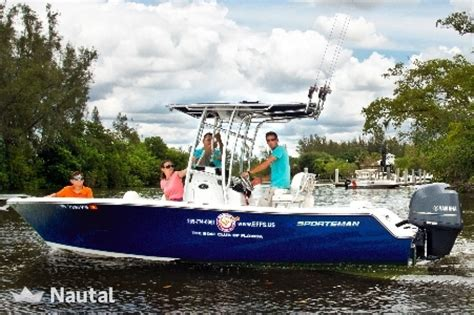 sportsman boats south florida fantastic 8 hour fishing charter in naples nautal