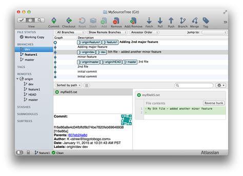 github tutorial merge tutorial git and github source tree ii branching