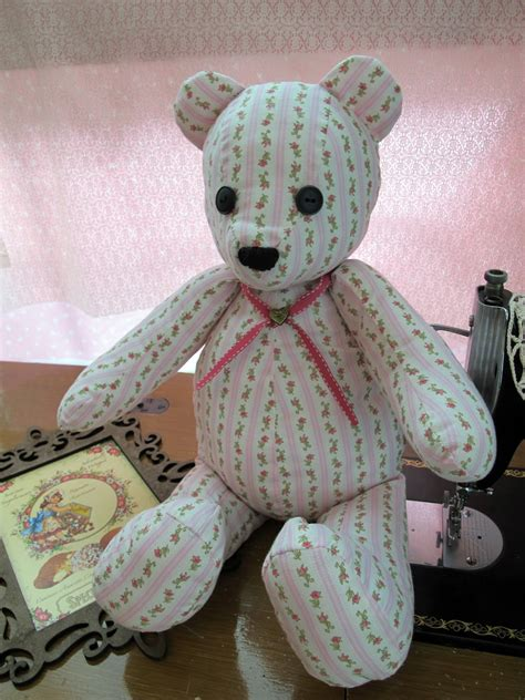 free cloth teddy bear patterns teddy bear patterns to sew more fabric teddy bear