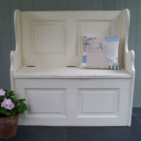 small monks bench hand painted in any colour by rectory