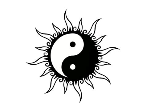 yin yang tattoos png transparent images png all