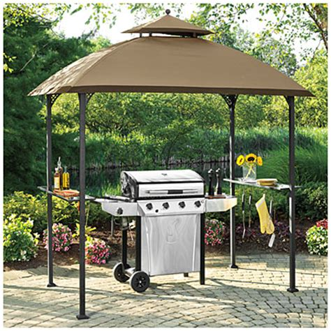 view wilson fisher 174 windsor grill gazebo with shelves