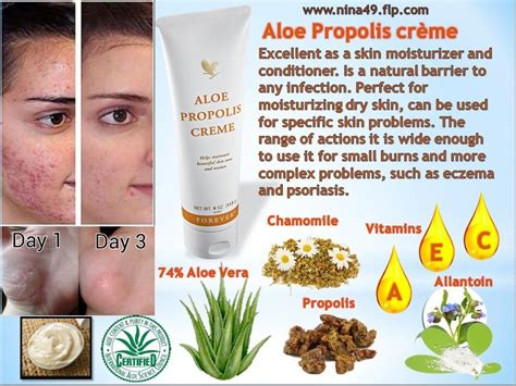 original sealed forever living aloe vera propolis creme