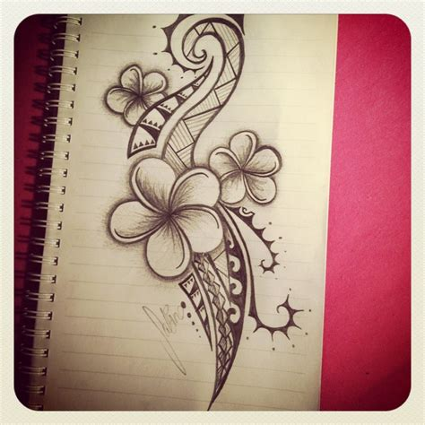 hawaiian tribal tattoos for women best 25 tribal flower tattoos ideas on arm
