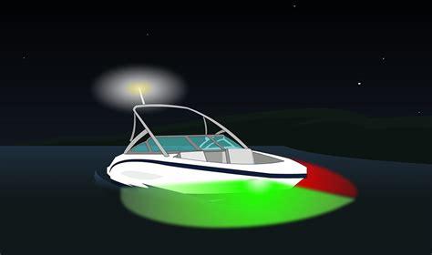 boat navigation definition feux de navigation 224 montrer selon le type d embarcation