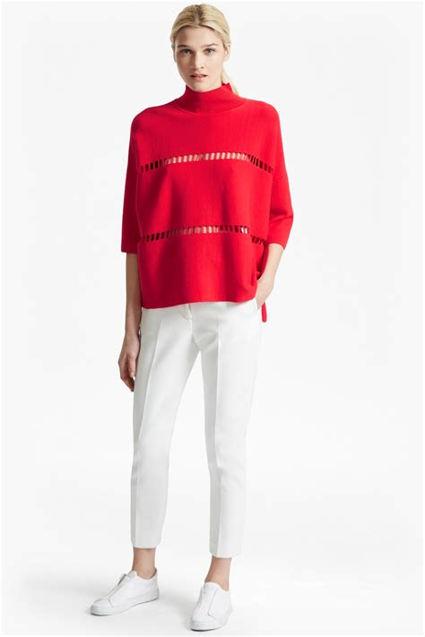 Supersize Mi Lano by Mozart Laddered Oversized Jumper Collections