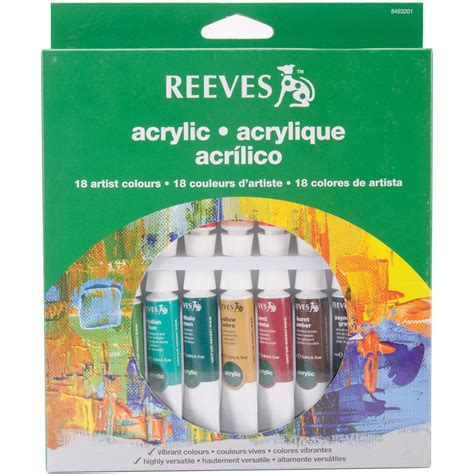 acrylic paint set kmart reeves acrylic painting supplies kmart