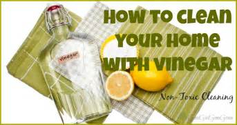 7 diy cleaning recipes using vinegar good girl gone green