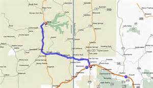 chinle arizona map de chelly tours
