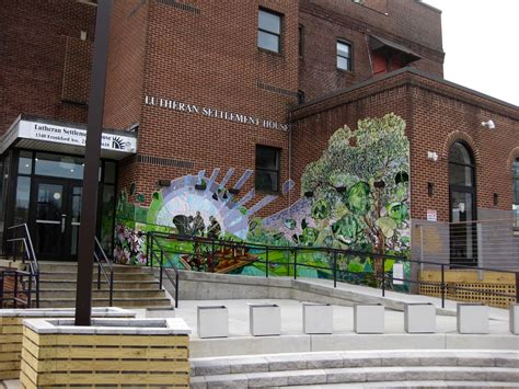 Lutheran Settlement House by A Tribute To Lutheran Settlement House Phillymuralpics