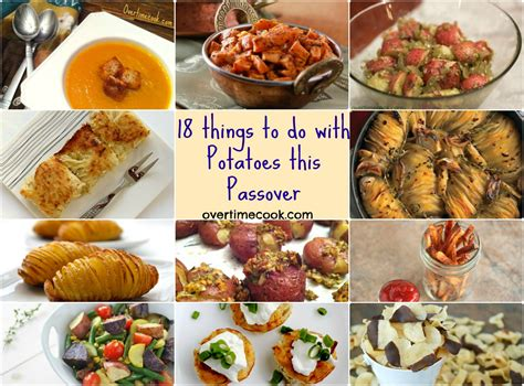 18 delicious things to do with potatoes this passover