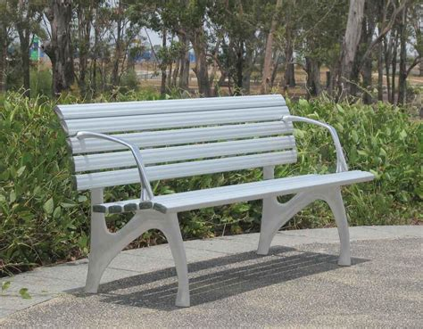 park bench seat s190 bench seating furniture for public spaces street park garden and commercial
