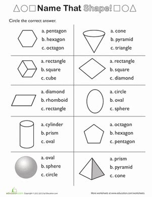 shape review: line segments, symmetry, and more
