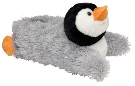 penguin slippers new dunlop plush penguin novelty slippers slip on