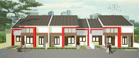 desain depan rumah com desain rumah mungil type 70 pt architectaria media cipta