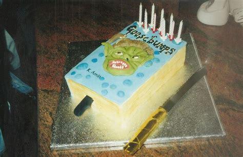 goosebumps cakes images  pinterest  kids