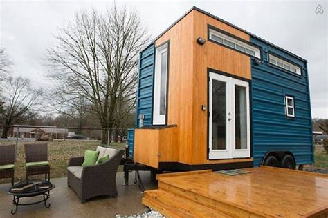 stationary tiny house plans nashville 185 sq ft tiny home is a modern guesthouse