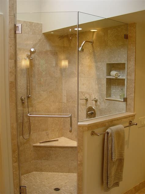 Bathrooms With Showers Breathtaking Shower Corner Shelf Unit Decorating Ideas Images In Bathroom Contemporary Design Ideas