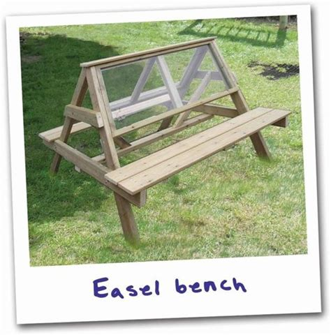 bench easel art bench easel woodworking projects plans
