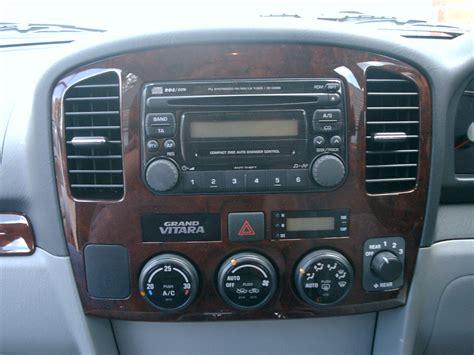 Suzuki Grand Vitara Radio Suzuki Grand Vitara 99 05 Stereo Removal