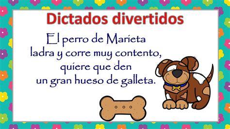 dictados cortos dictados divertidos para infantil y primaria 6