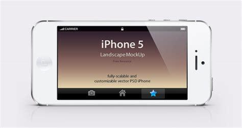 resume layout free iphone 5 psd landscape mockup psd mock up templates