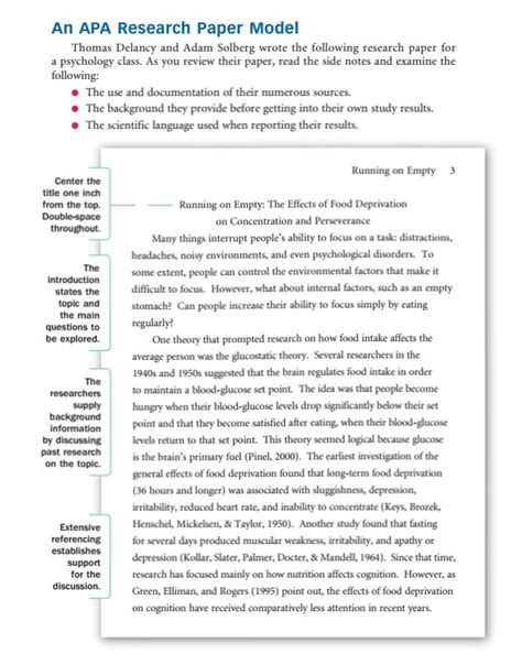 write  research paper outline  examples