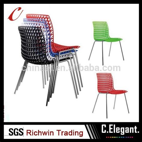 harga pabrik warna warni modern kursi plastik grosir kursi