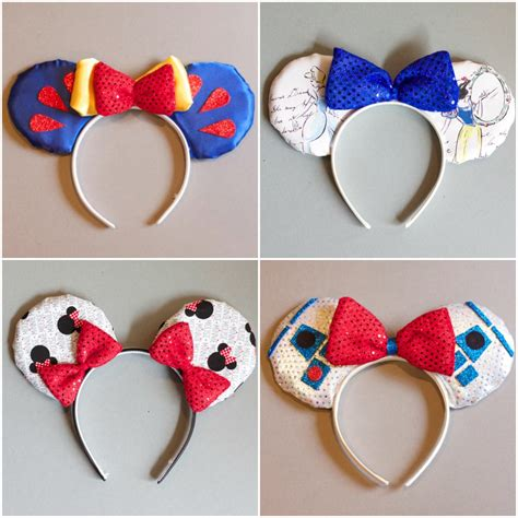 Pola Papercraft Wisuda - how to make mickey mouse ears with construction paper 29